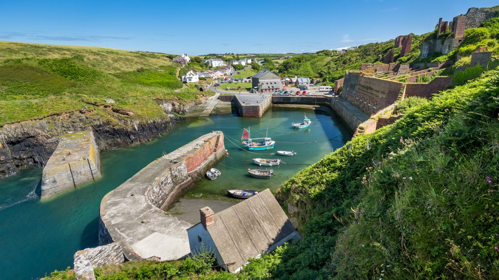 Fishing village of Porthgain
