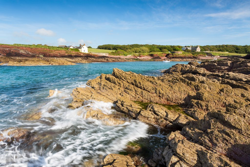 St Brides Haven in the Pembrokeshire Coast National Park