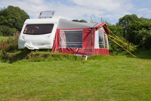 Touring Caravan on the Pembrokeshire Coast