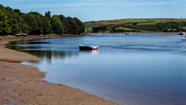 St Dogmaels on the estuary of the River Teifi