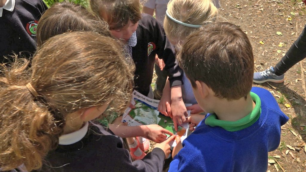 Pembrokeshire Outdoor Schools event at Stackpole, Pembrokeshire Coast National Park, Wales, UK