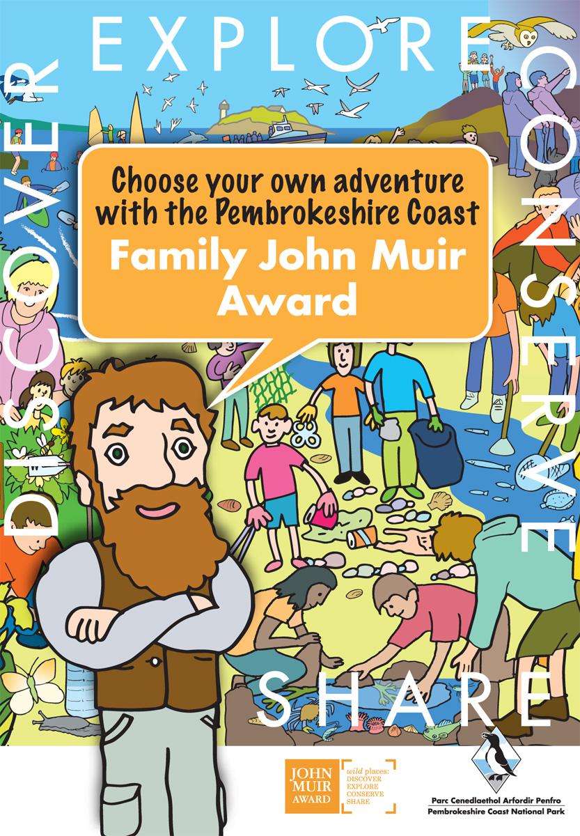Family John Muir Award Leaflet Cover