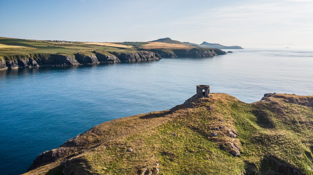 Looking south towards St David's Head from Abereiddi