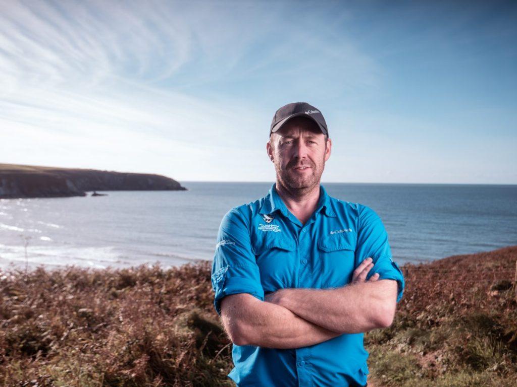 Pembrokeshire Coast National Park Ranger Richard Vaughan