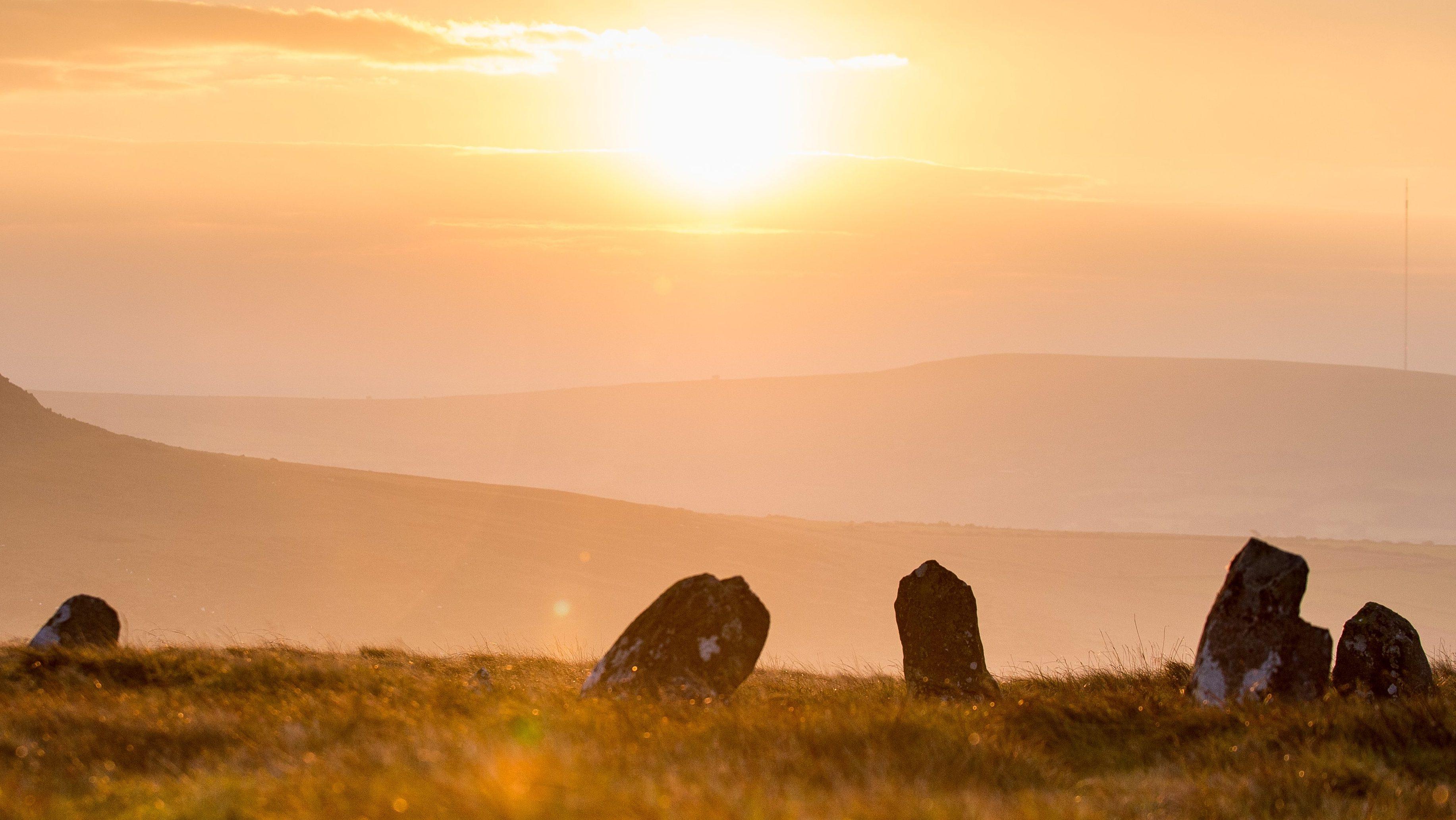 Bedd Arthur stone circle, Preseli Hills