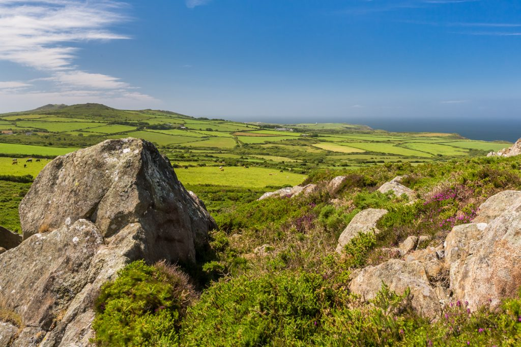 View from Garnwnda, Llanwnda