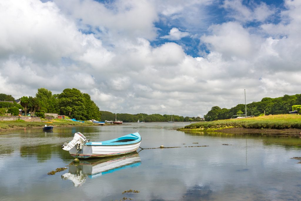 Llangwm, Daugleddau Estuary, Pembrokeshire Coast National Park