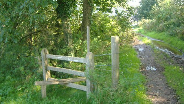 Lamphey footpath