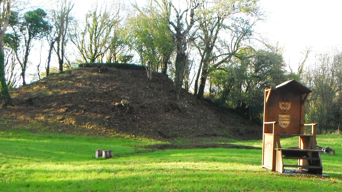 Nevern Castle site