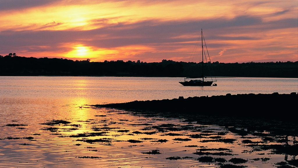 Landshipping Quay, Daugleddau Estuary, (C) Crown Copyright/Visit Wales
