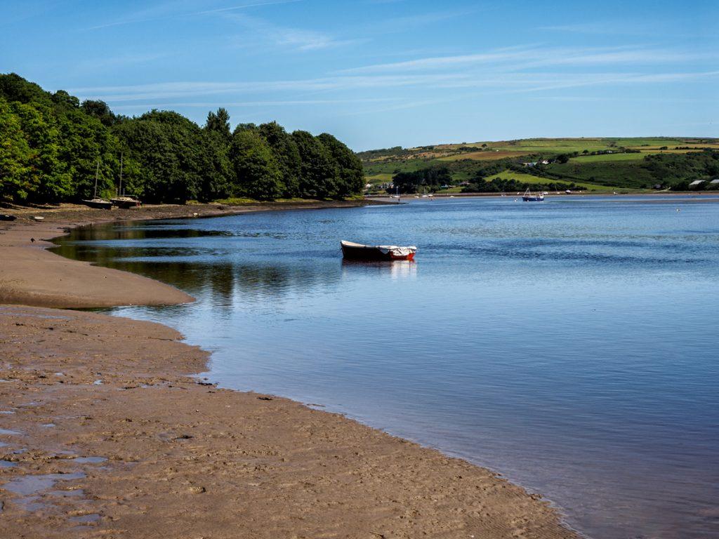 St Dogmaels, Pembrokeshire on the estuary of the River Teifi