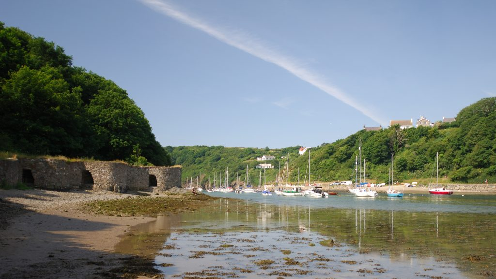 Limekilns in Solva Harbour