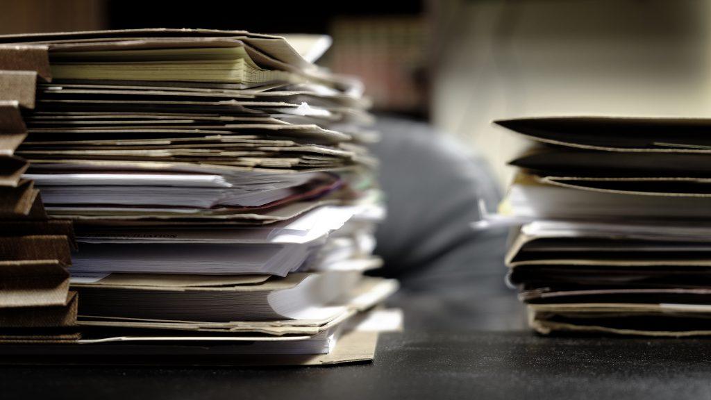 Files and folders on desktop