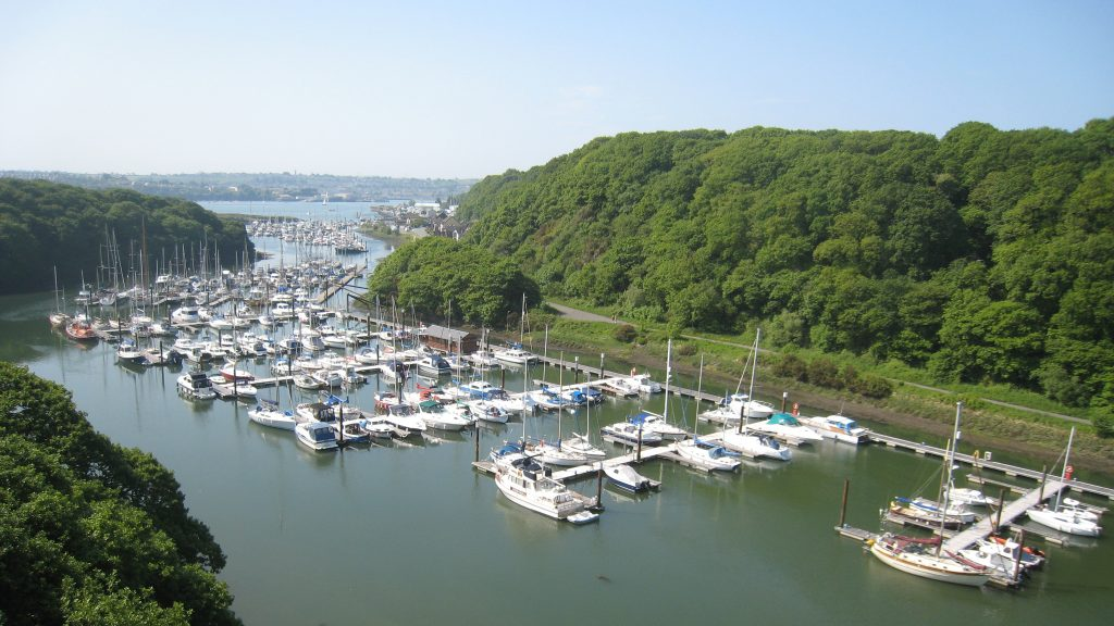 Neyland Marina between Milford Haven and Pembroke Dock