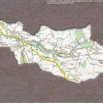Map of Gwaun Valley Catchment