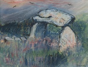 Artwork by Sue Edwards on display at Oriel y Parc, St Davids 10 September - 2 November 2020