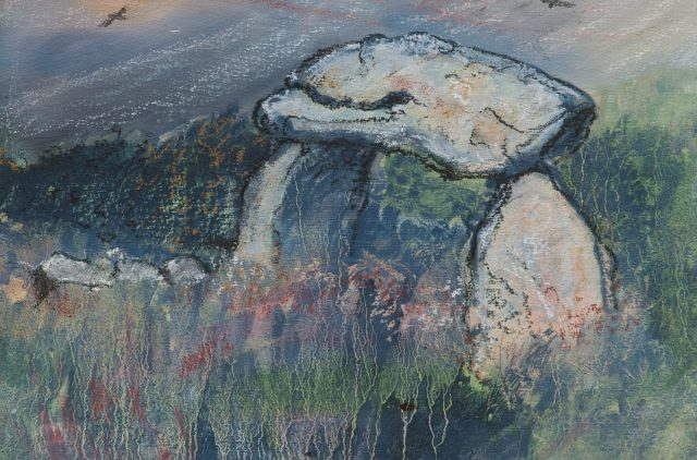 Artwork by Sue Edwards on display at Oriel y Parc, St Davids 10 September - 2 November 2020