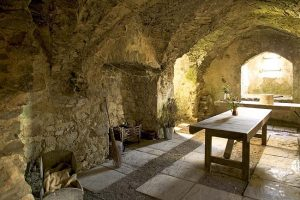 Carew Castle Kitchen